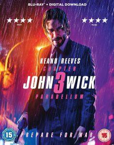 Affiche de film de John Wick 3rd