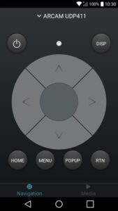 Arcam-Control-Application-pour-Android