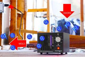 Désinfection à l'ozone du panneau acoustique (1)