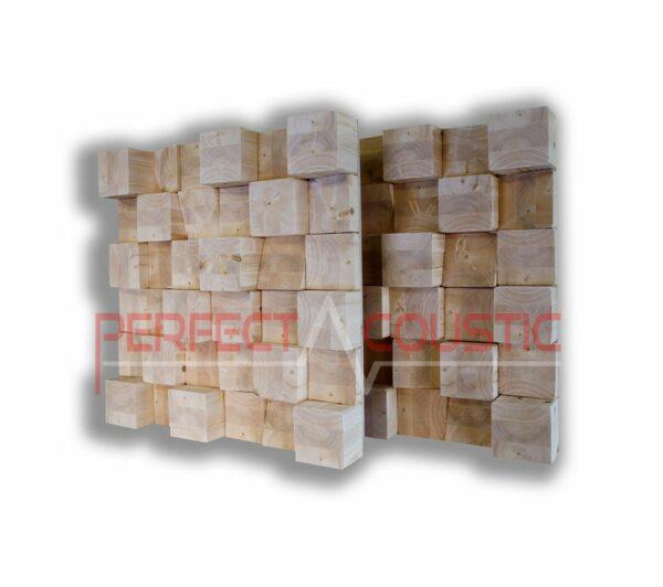 Diffuseur acoustique cubique natur (2)