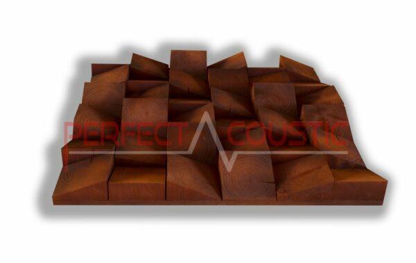 Diffuseur acoustique en bois