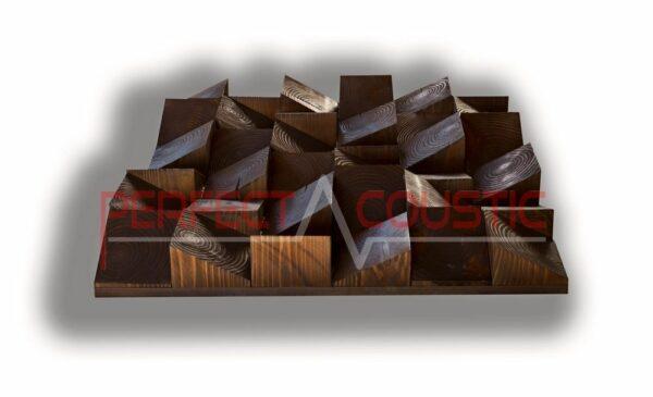 Son de qualité avec diffuseurs acoustiques en bois