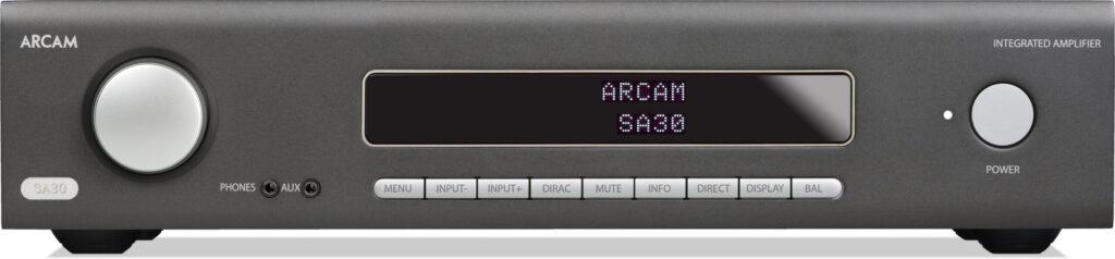 Face avant de l'amplificateur Arcam SA30