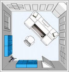Flexi Acoustic Diffuser Positionnement en angle