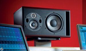 Haut-parleurs Trio11 dans le studio