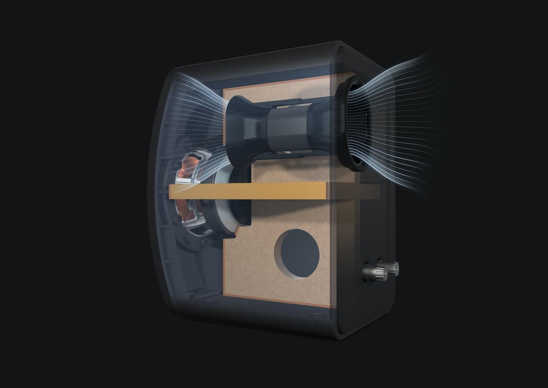 Meta haut-parleurs à l'intérieur