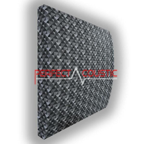 Panneau acoustique à motifs 3D à carreaux