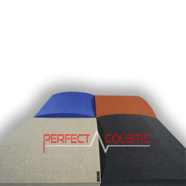 Panneau acoustique à motifs 3D couché