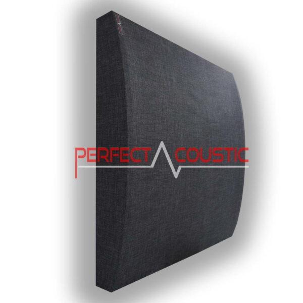 Panneau acoustique à motifs 3D gris clair