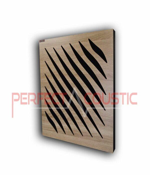 Panneau acoustique avec motifs diffuseurs (2