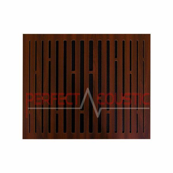 Panneau acoustique avec motifs diffuseurs en treillis (2)