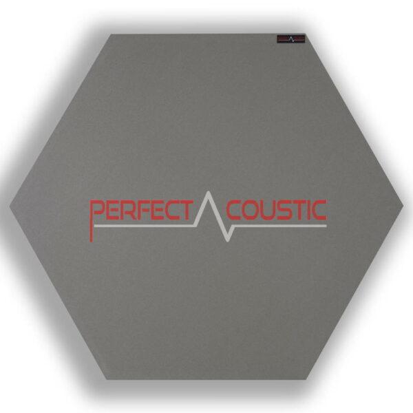Panneau acoustique hexagonal gris 2.