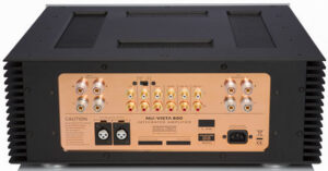 Panneau arrière du NuVista 800