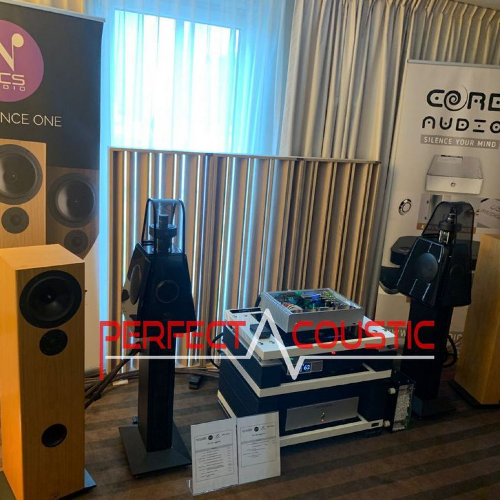 Spectacle hifi Core Audio, présentation de l'absorbeur acoustique