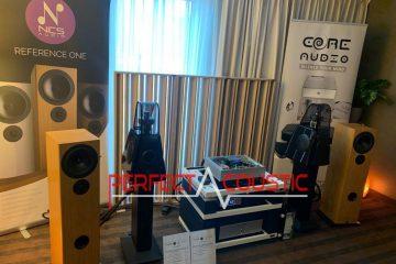 Spectacle hifi Core Audio, présentation de l'absorbeur acoustique