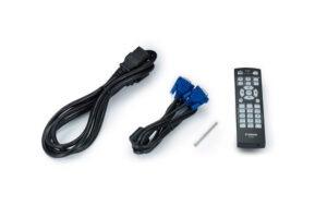 Télécommande avec câble de projecteur lx-mu800z