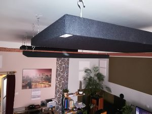 Types de panneau absorbant-panneau acoustique plafond