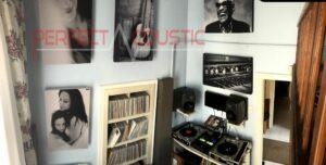 panneau acoustique-acoustique studio avec Perfect Acoustic