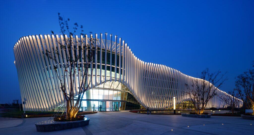 bâtiment paramétrique