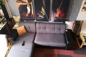 conception acoustique de cinéma maison avec absorbeur de basses rustique