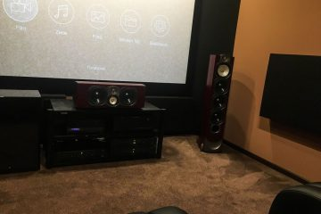 conception acoustique de cinéma maison avec absorbeur de basses rustique (4)