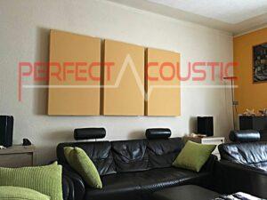 conception acoustique de la pièce avec absorbeurs acoustiques (2)