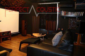 conception acoustique de salle de cinéma maison avec absorbeurs acoustiques (3)