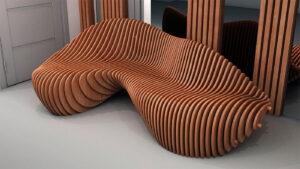 conception de mobilier paramétrique