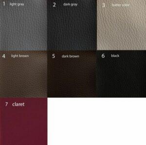 couleurs de membrane acoustique