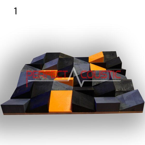 diffuseur acoustique black