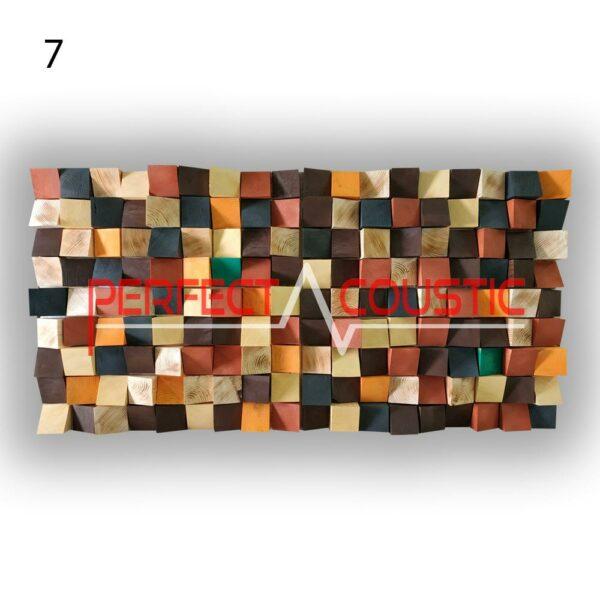 diffuseur acoustique art 7 échantillons de couleur, avant. (3)