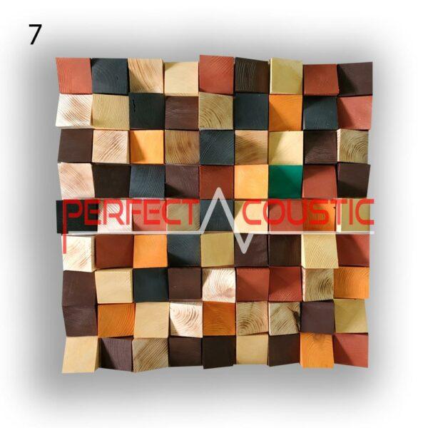 diffuseur acoustique art 7 échantillons de couleur, avant. (4)