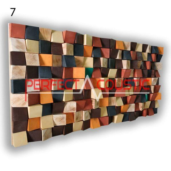 diffuseur acoustique art 7 échantillons de couleur, avant. (5)