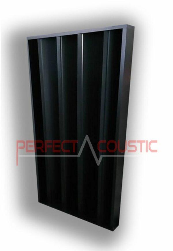 diffuseur acoustique colonne noir