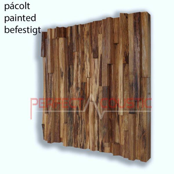 diffuseur acoustique en bois de chêne couleur