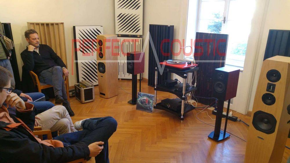 diffuseurs acoustiques dans la villa Barabas