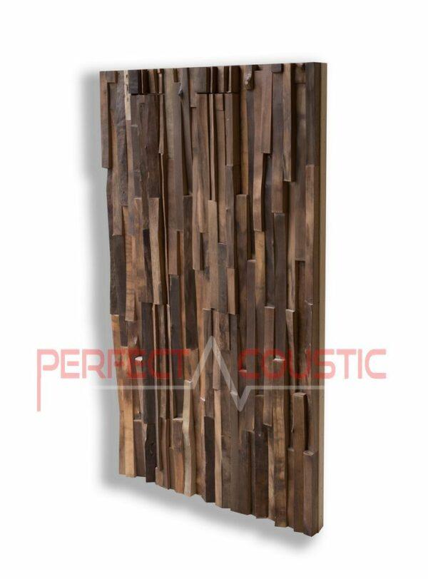 diffuseurs acoustiques en bois noble
