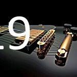 joueur de guitare avec des éléments photo-acoustiques