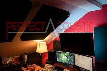 mesure acoustique de studio sur le toit