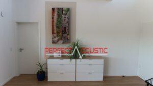 panneau acoustique photo accroché au mur