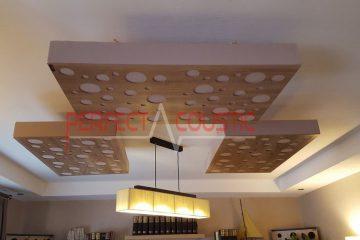 panneaux acoustiques de plafond