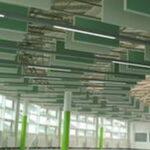 panneaux-de-plafond-vert