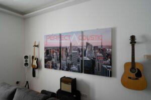 panneaux photo muraux acoustiques