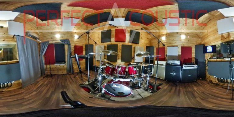séparation acoustique des équipements à tambour