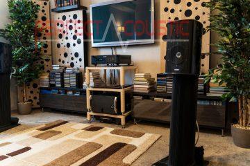 salon avec membrane absorbante acoustique