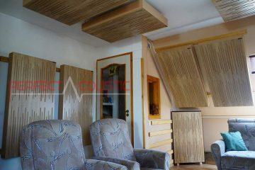 traitement acoustique de la pièce