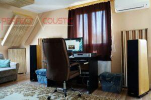 traitement acoustique de la salle hifi