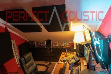 traitement acoustique studio attique