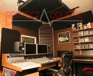 Panneaux acoustiques studio-supérieure absorbant les basses